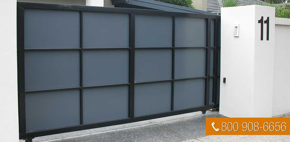 sliding electric gates manual automatic hi security